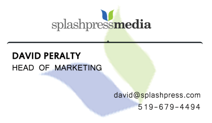 Splashpress Media Business Card