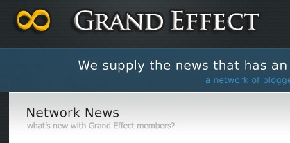 Grand Effect's New Design