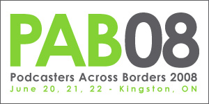 Attending Podcasters Across Borders