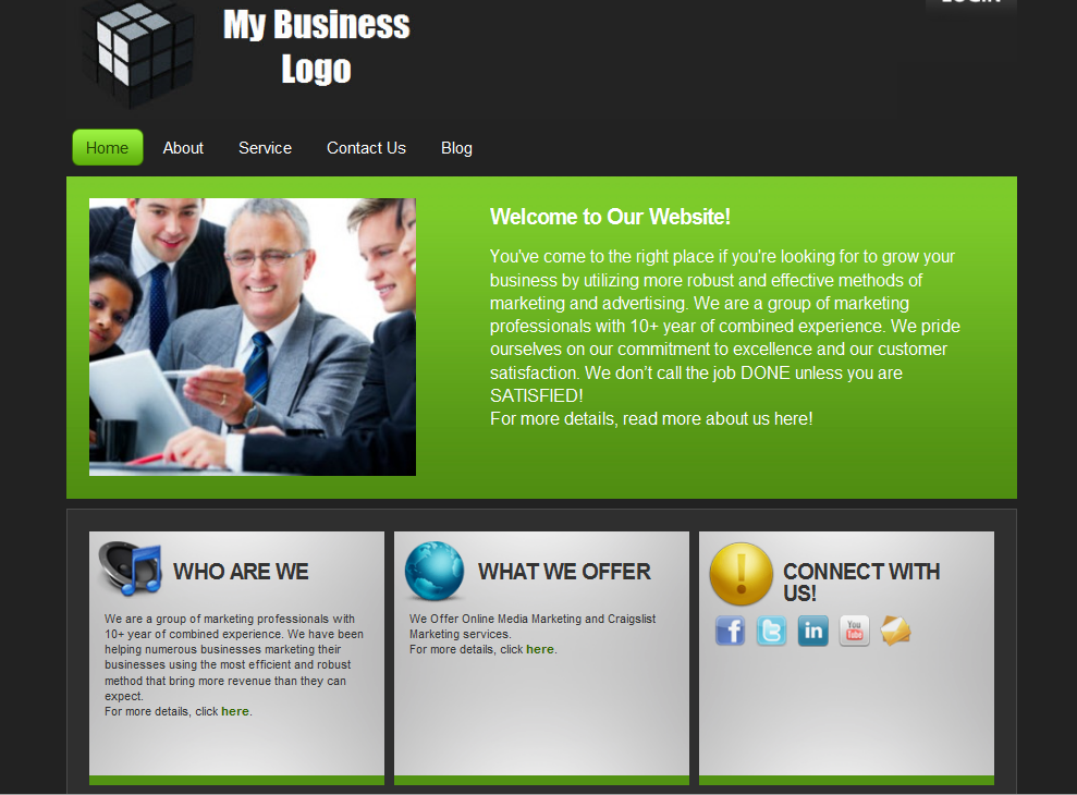 4 easy web design tips for small businesses extra for for It web page