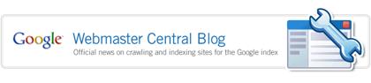 Google Official Webmaster Blog