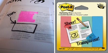 See Through Sticky Notes